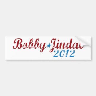 Bobby Jindal 2012 Pegatina Para Auto
