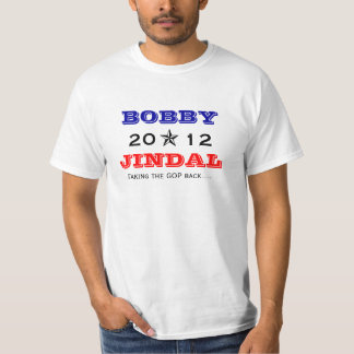 Bobby Jindal 2012 for President - Customized T-Shirt