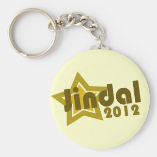 Bobby Jindal 2012 Basic Round Button Keychain