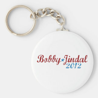 Bobby Jindal 2012 Llavero Redondo Tipo Pin