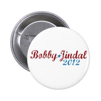 Bobby Jindal 2012 Pin Redondo De 2 Pulgadas