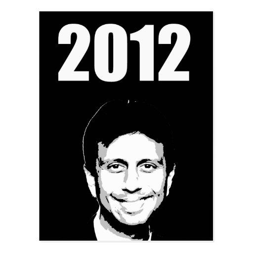 Bobby Jindal 2012 Postcard