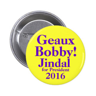 Bobby Jindal 2016 2 Inch Round Button
