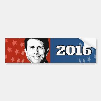 BOBBY JINDAL 2016 CANDIDATE BUMPER STICKER