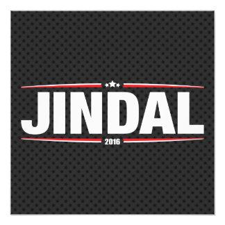 Bobby Jindal 2016 (estrellas y rayas - negro) Foto