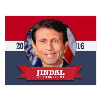 BOBBY JINDAL 2016 POSTCARD