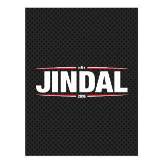 Bobby Jindal 2016 (Stars & Stripes - Black) Postcard
