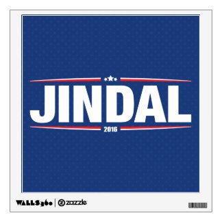 Bobby Jindal 2016 (Stars & Stripes - Blue) Wall Decal