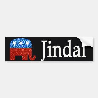 Bobby Jindal Car Bumper Sticker