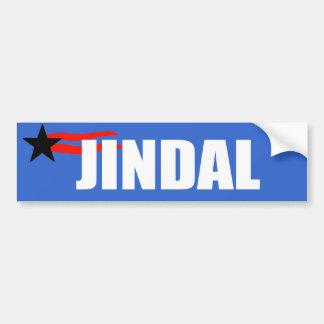 BOBBY JINDAL Election Gear Bumper Sticker