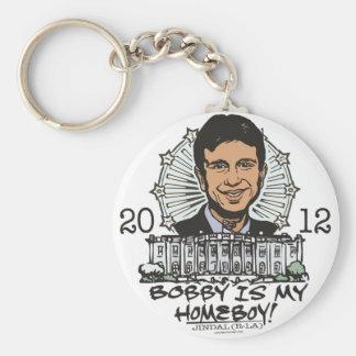 Bobby Jindal es mi engranaje del Homeboy 2012 Llavero