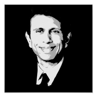 Bobby Jindal Face Poster