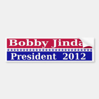 Bobby Jindal for President 2012 Bumper Sticker