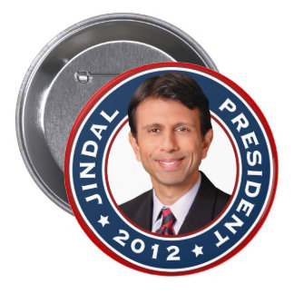 Bobby Jindal for President 2012 Pinback Buttons