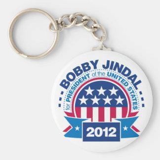 Bobby Jindal for President 2012 Keychain