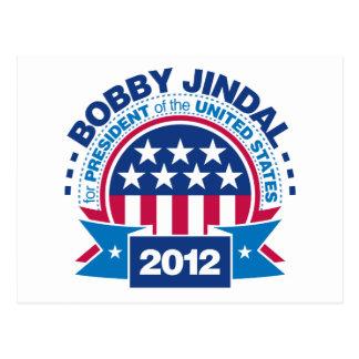 Bobby Jindal for President 2012 Postcard
