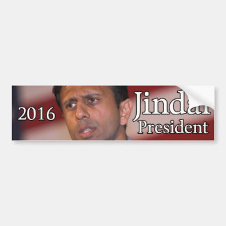 Bobby Jindal for President 2016 Bumper Sticker