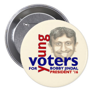 Bobby Jindal for President 2016 Pinback Buttons