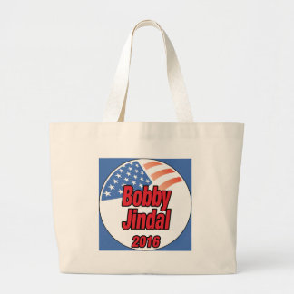 Bobby Jindal for president in 2015 Large Tote Bag