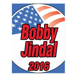 Bobby Jindal for president in 2015 Postcard