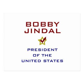 Bobby Jindal for President USA Postcard