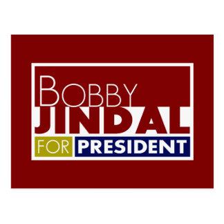 Bobby Jindal for President V1 Postcard
