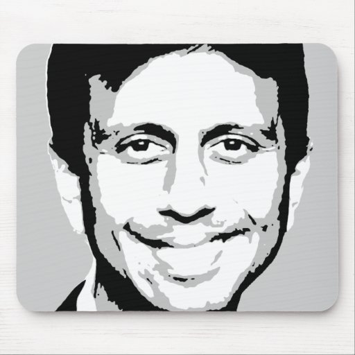 Bobby Jindal Gear Mouse Pad