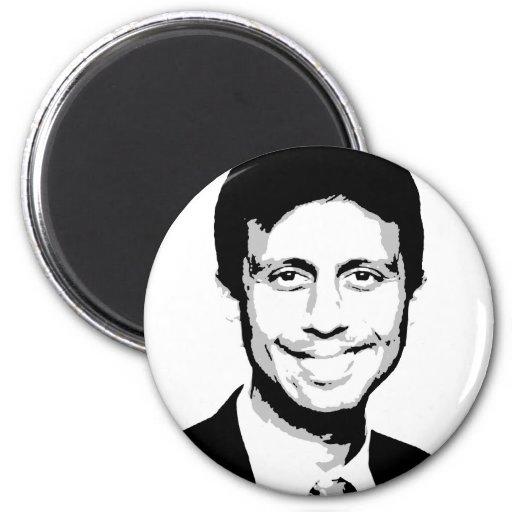 Bobby Jindal Gear Refrigerator Magnet
