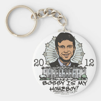 Bobby Jindal is My Homeboy 2012 Gear Keychain