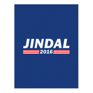 Bobby Jindal, Jindal 2016 Postcard