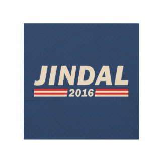 Bobby Jindal, Jindal 2016 Wood Print