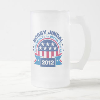 Bobby Jindal para el presidente 2012 Taza De Cristal