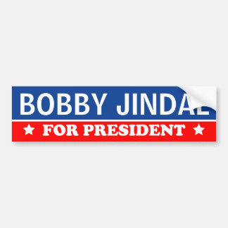 Bobby Jindal para el presidente 2016 Pegatina Para Auto