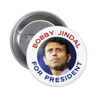 Bobby Jindal para el presidente Pin Redondo De 2 Pulgadas