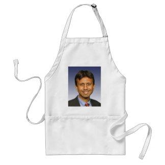 bobby jindal photo adult apron
