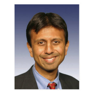 bobby jindal photo postcard