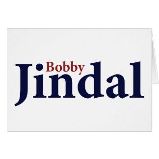 Bobby Jindal Tarjeta De Felicitación