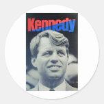 Bobby Kennedy '68 Round Sticker