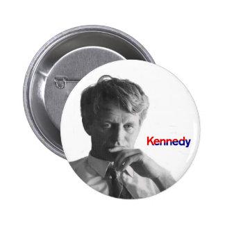 Bobby Kennedy Pin Redondo De 2 Pulgadas