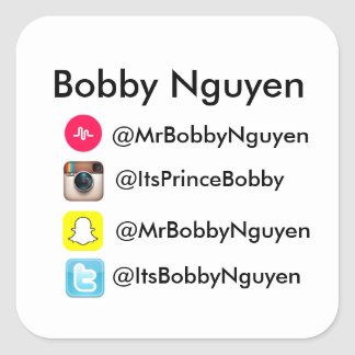 Bobby Nguyen Info Stickers