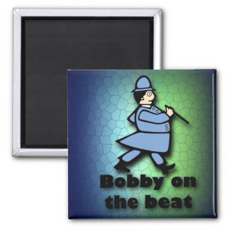 Bobby on the Beat Refrigerator Magnets