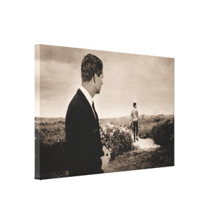 Bobby Remembers Jack Canvas Print