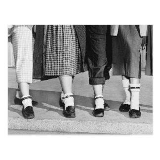 Bobby Socks, 1953 Postcard