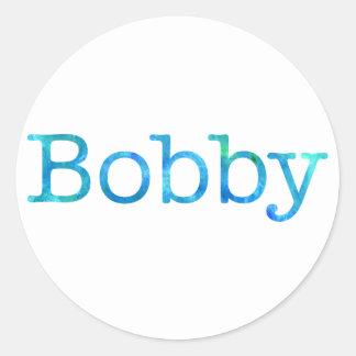 Bobby Sticker