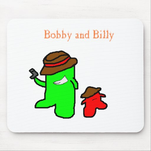 Bobby y Billy Mousepad