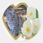 bobcat-00113-85x85 classic round sticker