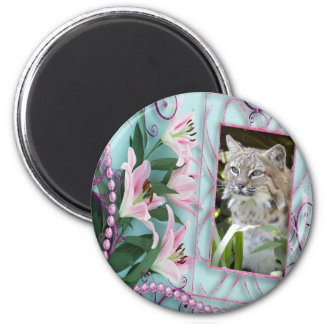 bobcat-00201 2 inch round magnet