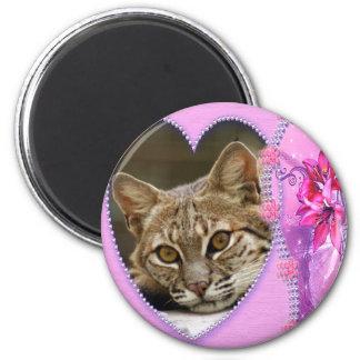 bobcat-00222 2 inch round magnet