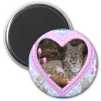 bobcat-00266 2 inch round magnet