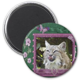 bobcat-00521 2 inch round magnet